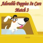 Adorable Puppies In Cars Match 3