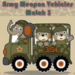 Army Weapon Vehicles Match 3