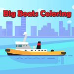 Big Boats Coloring