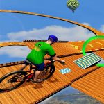 BMX Rider Impossible Stunt Racing : Bicycle Stunt