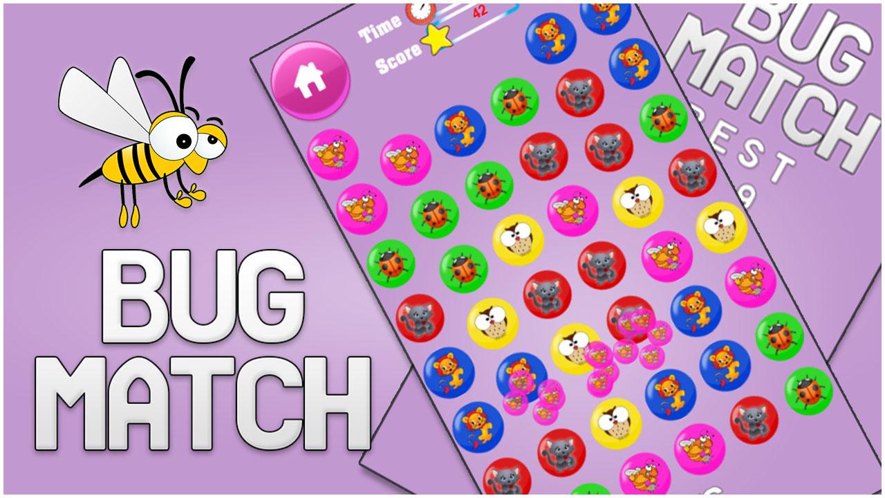 Bug Match for kids Education