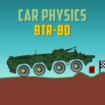 Car Physics BTR 80
