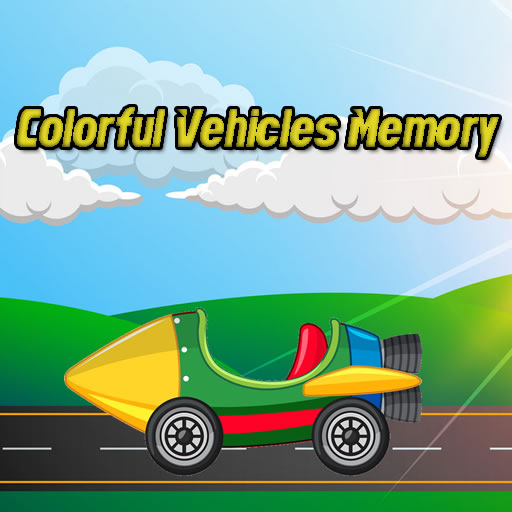 Colorful Vehicles Memory