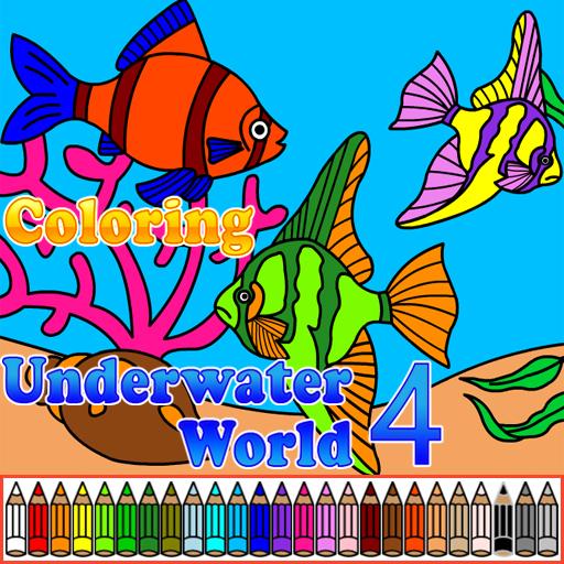 Coloring Underwater World 4