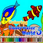 Coloring Underwater World 5