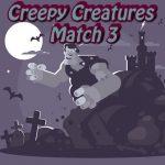 Creepy Creatures Match 3