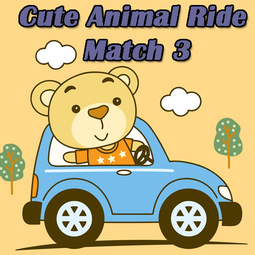 Cute Animal Ride Match 3