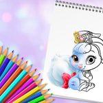 Cute Animals Coloring Book
