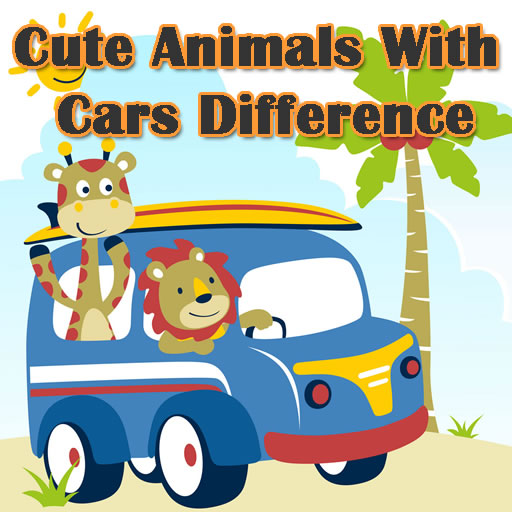 Cute Animals With Cars Difference
