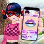 Cute Lip Design For Marinette