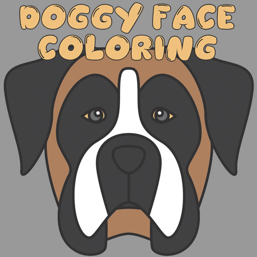 Doggy Face Coloring