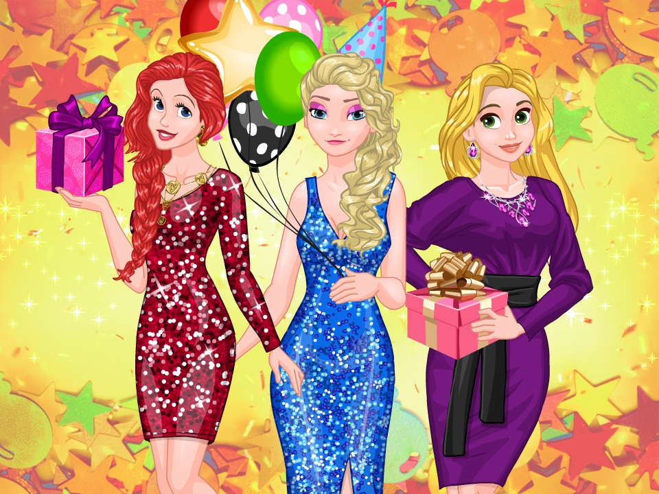 Frosty Princess Party Surprise