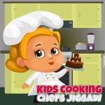 Kids Cooking Chefs Jigsaw