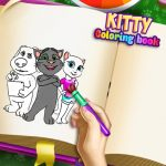 Kitty Coloring Book