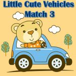 Little Cute Vehicles Match 3