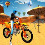 Motocross Beach Game : Bike Stunt Racing