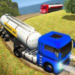 off road Oil Tanker Transport Truck