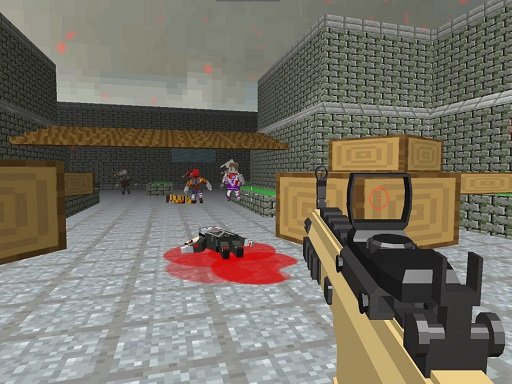Pixel Apocalypse Shooting Zombie Garden
