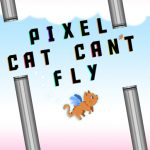Pixel Cat Can t Fly