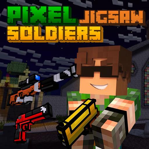 Pixel Soldiers Jigsaw