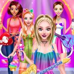 Popstar Girls Dress Up