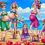 Pregnant Moms Exotic Holiday