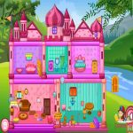 Princess Baby Doll House Cleanup Game