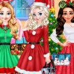 Princess Christmas Party