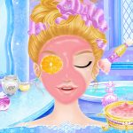 Princess Salon Frozen Party