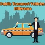 Public Transport Vehicles Difference