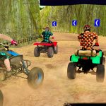 Quad Bike Derby Stunts