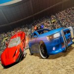 Real Car Demolition Derby Racing Game