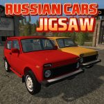 Russian Cars Jigsaw