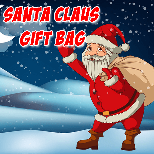 Santa Claus Gift Bag Jigsaw