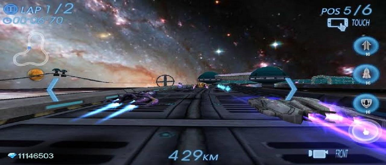 Space Ship Racer Game 2019