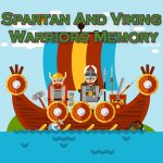 Spartan And Viking Warriors Memory