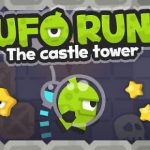 UFO Run. The castle tower