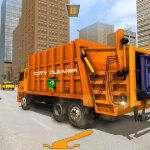 US City Garbage Cleaner: Trash Truck 2020