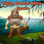 Viking Warrior Battle Jigsaw