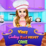 Vincy Cooking Red Velvet Cake