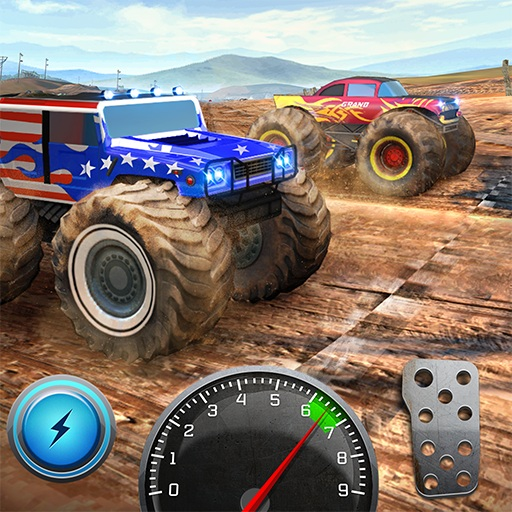Xtreme 3D Spectacular Monster Truck Offroad Jump