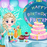 Baby Frozen Winter Party
