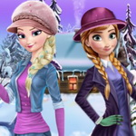 Frozen Winter Dress Up